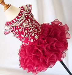 avalible in 15 color ---Infant/toddler/baby/children/kids Girl's glitz Pageant evening/prom Dress/clothing  1~6T G225 by jenniferwu58 on Etsy https://www.etsy.com/listing/269641774/avalible-in-15-color