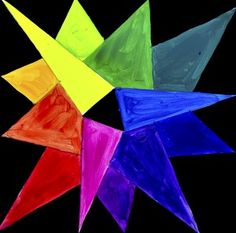 Color Wheel Star-shaped by Arte a Scuola