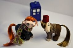 Custom Doctor Who/My Little Pony