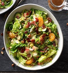 Check out this delicious recipe for Fruit and Nut Brussels Sprout Salad with Bacon Dressing from 25 Merry Days at Kroger!