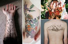 I got a nature tattoo.! What Kind Of Tattoo Should You Get?