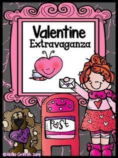Valentine Extravaganza - Celebrate the month of LOVE with this Valentine's Day bundle! It was created using the common core standards and includes activities, printables, crafts, and comprehension guides that can be adapted to meet the needs of your students. These activities are sure to keep your kiddos engaged and having fun throughout the entire month of February.