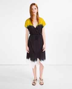 Image 1 of TIE DYE DRESS from Zara