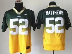 "$28.88 at ""MaryJersey""(maryjerseyelway@gmail.com) Nike Packers #52 Clay Matthews Green-Gold Men's Embroidered NFL Elite Fadeaway Fashion Jersey"