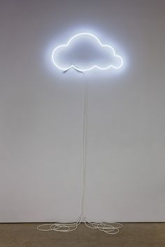 Neon cloud lamp
