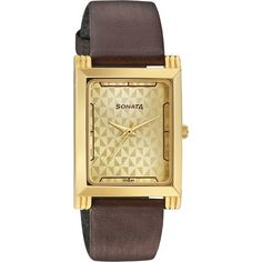 Check out our New Product  Sonata Champagne Dial Analog Watch For Men COD Sonata Champagne Dial Analog Watch For Men 77036YL02J  ₹2,059