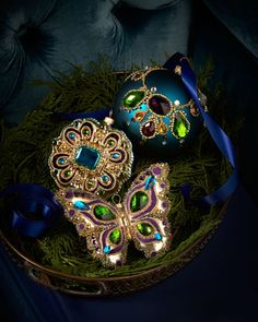 #HorchowHoliday14 Royale Christmas Ornaments at Horchow. #HorchowHoliday14