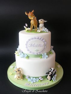 Bambi cake/// Oh...this is so cute!