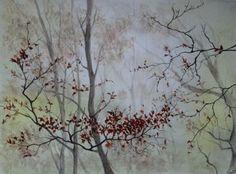 ABBY - Brume d'automne - Peinture - Aquarelle - Papier aquarelle 300g - Grain fin