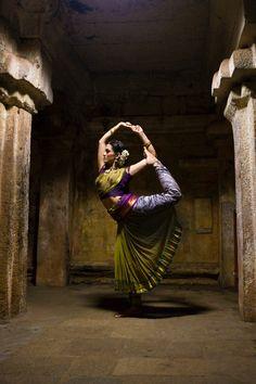 Shiva tandava, one of Rukmini's famous poses...
