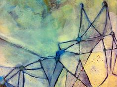 My Canvas, Abstract Oil, Calgary, Triangle, Landscape, Artist, Painting, Scenery, Artists