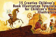 15 Creative Children's Book Illustration Tutorials for Children's Book Illustrators - Tutorials Press