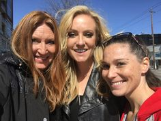Angie Ward and Freckles with Claire Dunn