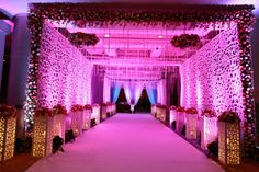 Ideas For Wedding Reception Entrance Pathways Wedding Gate, Wedding Reception Entrance, Wedding Hall Decorations, Marriage Decoration, Wedding Walkway, Backdrop Decorations, Birthday Decorations, Gate Decoration, Entrance Decor