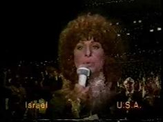 Streisand's conversation with Golda Meir during the 1978 network broadcast of The Stars Salute Israel at 30 is followed by Barbra singing Hatikvah. - video