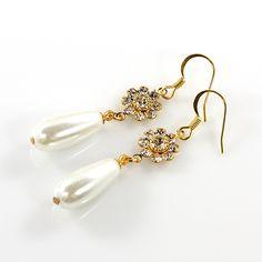 Ohrring  ♥ Brautschmuck ♥ Hochzeit ♥ Perlenohrring