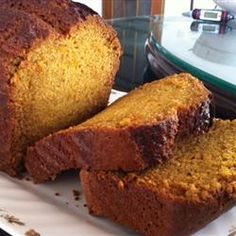 I absolutely love pumpkin bread and have been on a search for the perfect recipe. I think with this one I may have found it. It was easy to make,