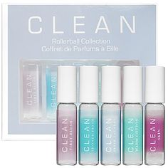 CLEAN Rollerball Collection: Rollerballs   Sephora...Love their scents, I'm intrigued by the Blush scent :)