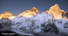 Mt Everest at Sunset from Kala Pattar | Flickr - Photo Sharing!