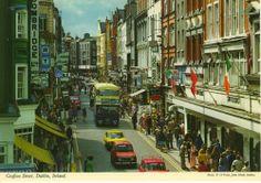 Old Dublin Photos - Old Dublin Town Ireland Pictures, Images Of Ireland, Old Pictures, Old Photos, Dublin Street, Dublin City, Cork Ireland, Dublin Ireland, Visit Dublin