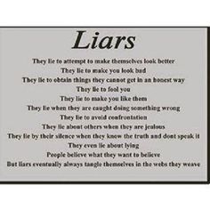 """I just told my children today that I hate lying. And if I say """"hate"""" you know it's bad. Narcissist Quotes, Relationship With A Narcissist, Relationships, Lessons Learned, Life Lessons, Narcissistic Behavior, Verbal Abuse, Love Truths, Powerful Quotes"""