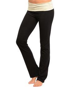 Two Tone Yoga Pants