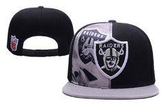 84f8cb5ef4c61 NFL Mens Oakland Raiders Flatbrim Cap Oakland Raiders Clothing