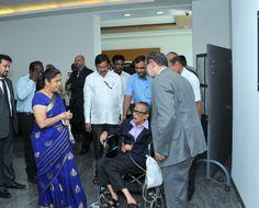 Legendary Cartoonist R K Laxman Visit to DSK Campus
