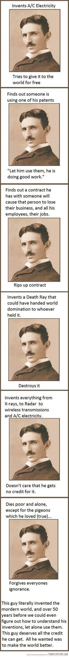 Good Guy Tesla.
