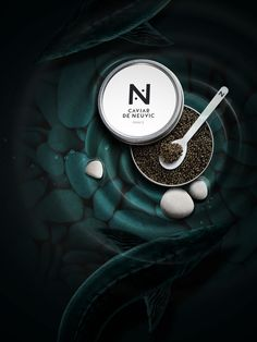 Caviar de Neuvic by kreatica, via Behance