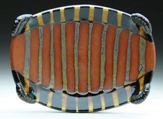Ronan Peterson in American Craft Magazine!! Modern quiltlike glaze....