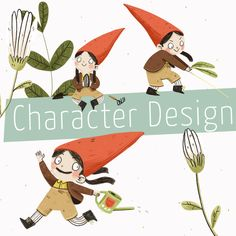 Boardcover: Character Design