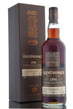 Glendronach 1994 / 19 Year Old / Cask 101 / Batch 8 http://www.abbeywhisky.com/glendronach-1994-19-year-old-single-cask-101-batch-8-whisky