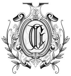 Courtney Love Monogram Commission