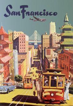 San Francisco Cablecar Downtown