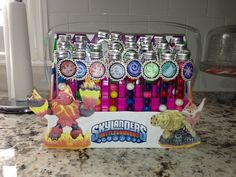 Great skylander party favors...easy!