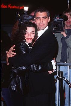 George Clooney and Julianna Margulies at event of One Fine Day (1996)