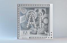 Adobe Illustrator Neo-Cube by Katt Phatt Follow us on Instagram: @betype