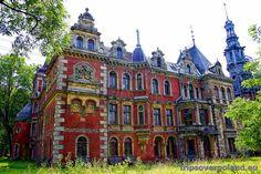 Krowiarki Palace - Silesia historical region, Europe - Poland / Love the historic architecture
