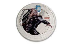 2015 Niue 2 Dollar 1-oz Silver Marvel Avengers 5 Piece Proof Set | GovMint.com