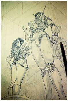 Venus Ace & Jun Hono by Adriano De Vincentiis