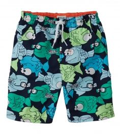 FISH SWIM TRUNK