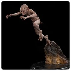 The Hobbit An Unexpected Journey Gollum Enraged Statue - Weta Collectibles - Hobbit / Lord of the Rings - Statues at Entertainment Earth