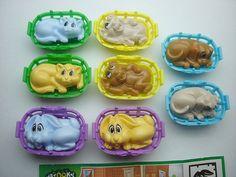 Kinder Surprise Set  Natoons Pets Babys Cute by KinderSurpriseToys