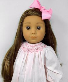 American Girl Doll ~ Emma Claire ~ OOAK Custom Golden Brown Hair Brown Eyes #AmericanGirl
