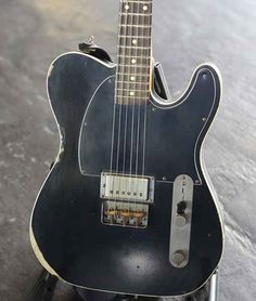 """laanatomiadelodio: """" Guys, have you seen Laura Jane Grace's Nash Telecaster? Perfect. It could only be better with a P90 in the neck. """""""