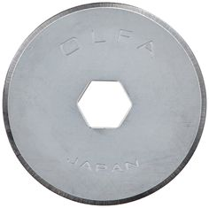 PRYM/OLFA 611581 Spare blades STANDARD for rotary cutters Size 18mm, 2 pieces * Click image for more details.