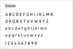 商用利用無料のおすすめフォント!視認性の高いシンプルなデザインが美しいフォントとかわいいフォント -GidoleとGidolinya | コリス