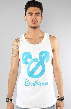 Business Tank #klp #whitenblue