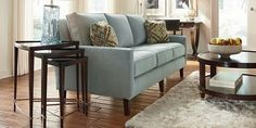Spellbound Living Room Furniture by Thomasville Furniture - love the sofa.  Right color and right style